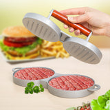 Double Hamburger Grid Press
