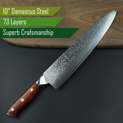 "10"" Japanese Chef Steel"