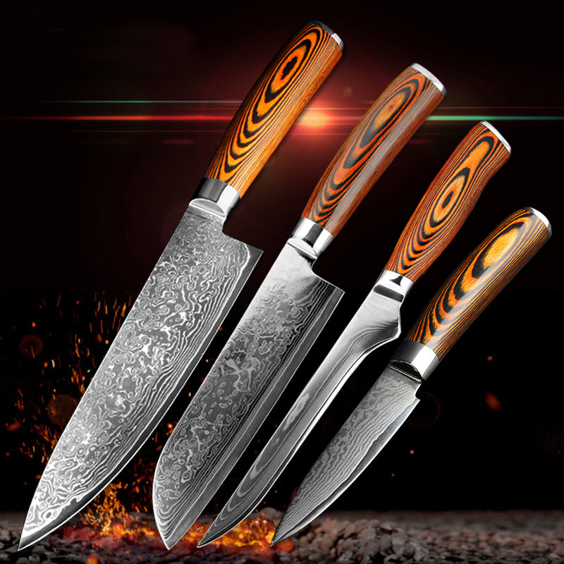 4 PCS Japanese Chef Set