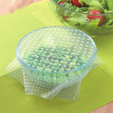 Silicone Fresh & stretch Wrap- 4pcs