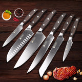 Forged Stainless Steel 6 Piece Chef Set