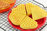 Heart Shaped Belgium Waffles Silicone Mold