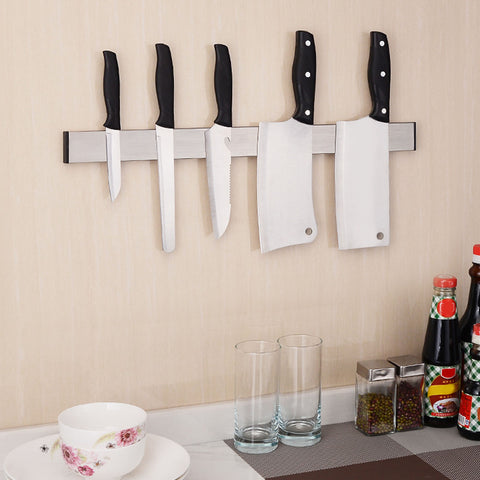 "12.2"" Stainless Steel Magnetic Chef Set Holder"