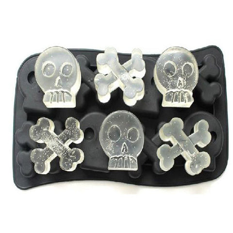 Silicone Skull Ice Mold