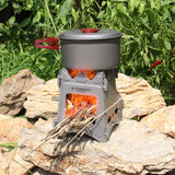 Portable Titanium Outdoor Camping Wood Stove