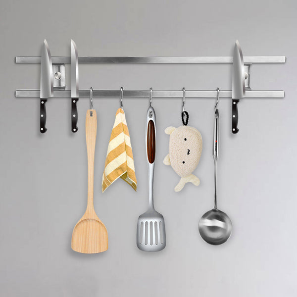 Wall Mounted Magnetic Chef Rack
