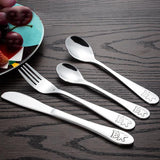 Kids Stainless Steel Panda Cutlery Set