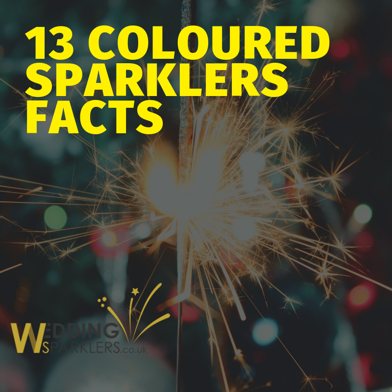 13 Coloured Sparklers Facts