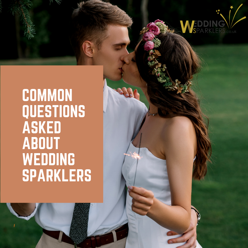 Common Questions Asked About Wedding Sparklers