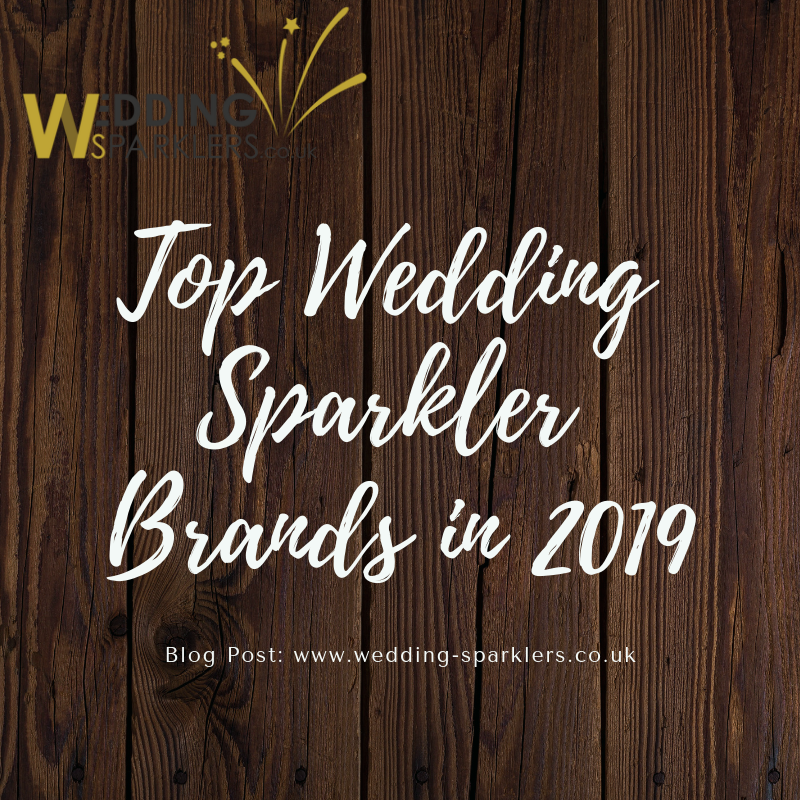 Top Wedding Sparkler Brands in 2019