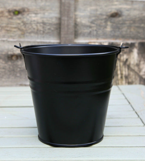 Set Of 1 - Wedding Sparkler Bucket 16 cm (Black)