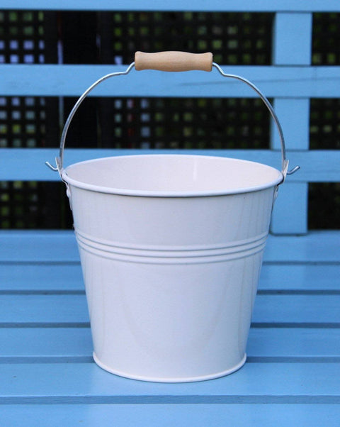Set Of 1 - Wedding Sparkler Bucket 16 cm (Cream)