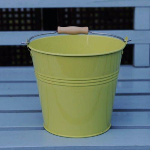 Set Of 1 - Wedding Sparkler Bucket 16 cm (Green)