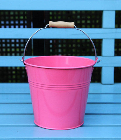 Bucket - Set Of 1 - Wedding Sparkler Bucket 16 Cm (Hot Pink)
