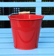 Bucket - Set Of 1 - Wedding Sparkler Bucket 16 Cm (Red)