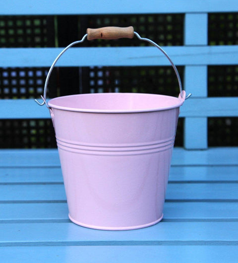Set Of 1 - Wedding Sparkler Bucket 16 cm (Soft Pink)