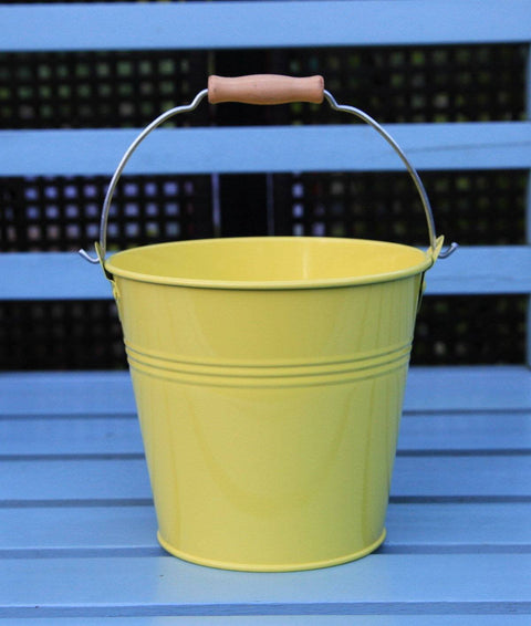 Set Of 1 - Wedding Sparkler Bucket 16 cm (Yellow)