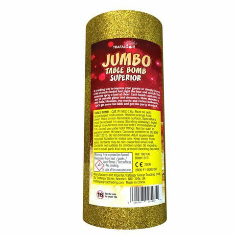 Trafalgar- Jumbo Table Bomb Indoor Use (PACK OF 1)