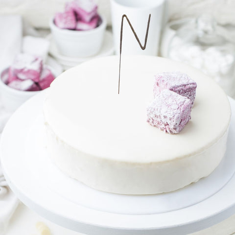 Set of 1 - Letter N Unique Wedding Sparkler Candles (17cm)