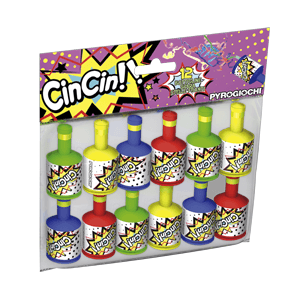 Party Poppers (Pack Of 12)