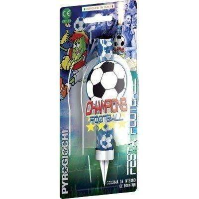 "Sparklers - Football Ice Fountain Sparklers 6"" Inch Indoor Use (PACK OF 1)"