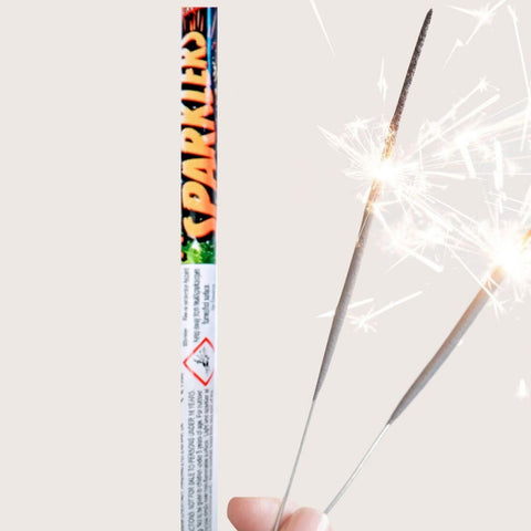 "Pack Of 10 Astra – 14"" Inch Long Sparklers In A Tube"