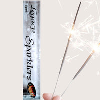 "Sparklers - Pack Of 5 Standard – 10"" Inch Legacy Medium Sparklers"