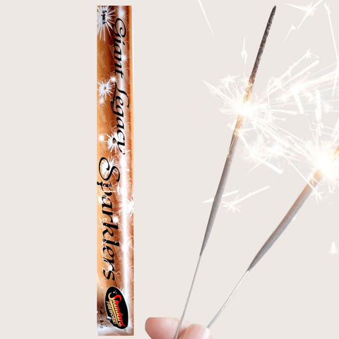 "Pack Of 5 Standard – 16"" Inch Giant Large Legacy Sparklers"