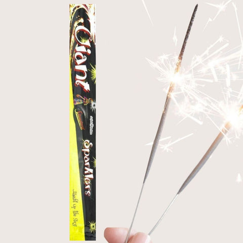 "Sparklers - Pack Of 5 Standard – 16"" Inch Giant Large Sparklers"