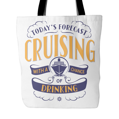 Cruise Lovers Exclusive Cruising Forecast Travel Bag