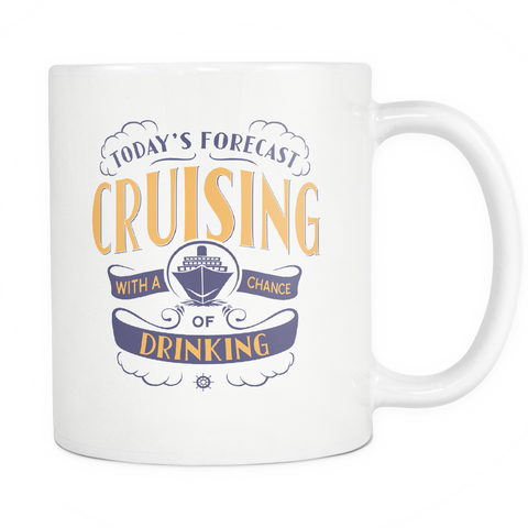 Cruise Lovers Exclusive Cruising Forecast Coffee Mug