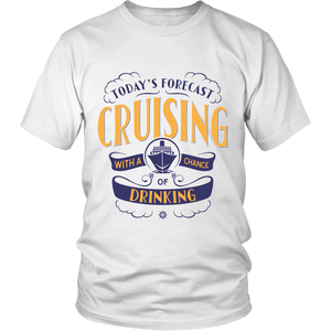 Cruise Lovers Exclusive Cruising Forecast Shirt
