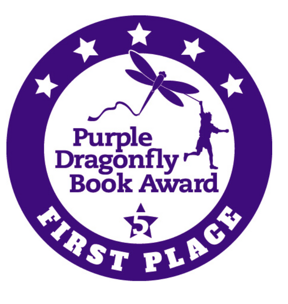Glitter the Unicorn and Glitter the Unicorn goes to the Beach Wins Coveted Purple Dragonfly Book Award