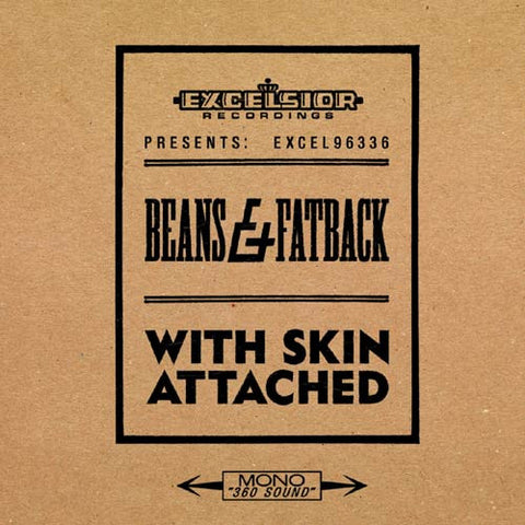 Beans & Fatback - With Skin Attached