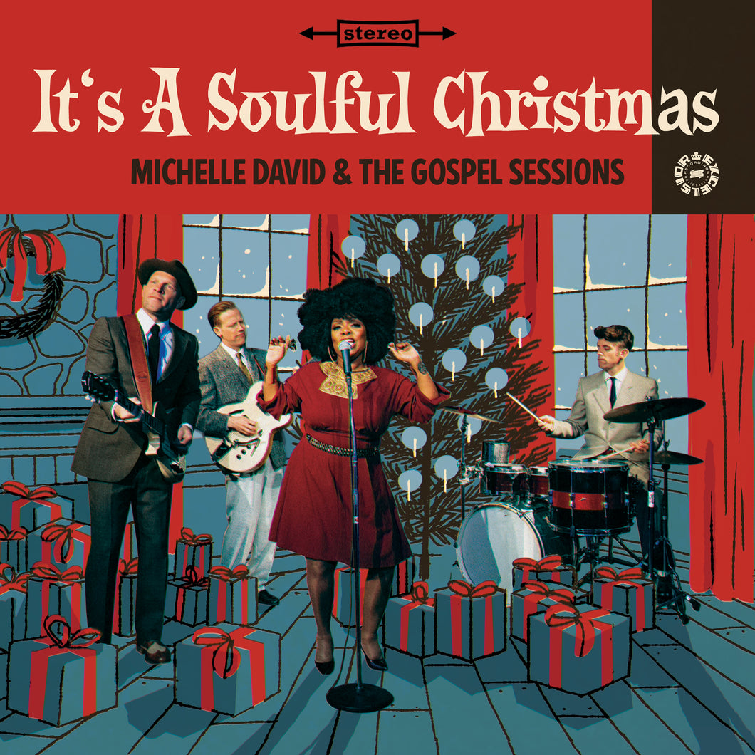 Michelle David & the Gospel Sessions - It's a Soulful Christmas (pre-order)