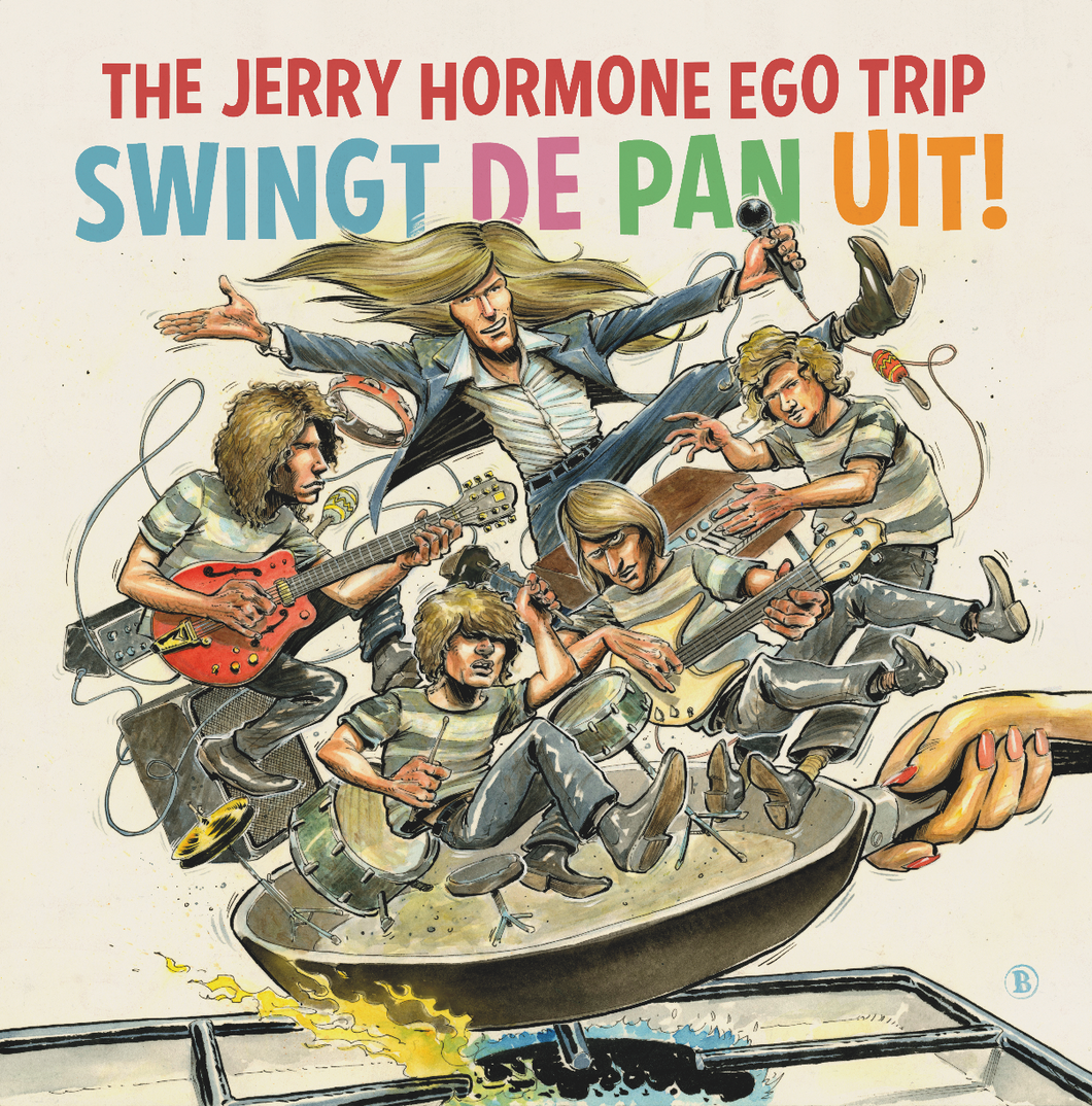 The Jerry Hormone Ego Trip swingt de pan uit!