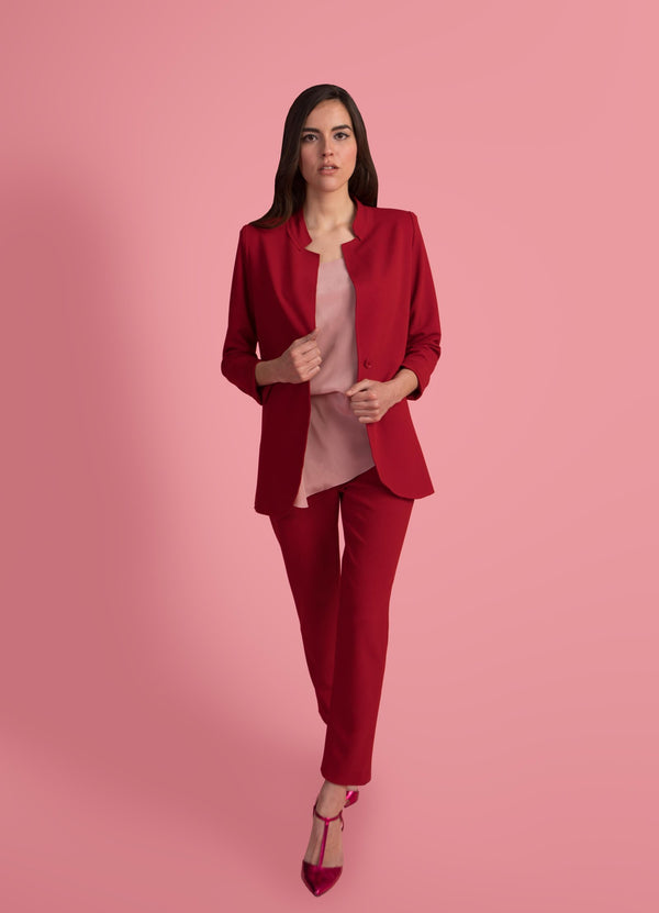 Laura Red   Blazer