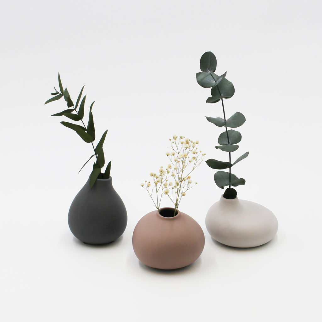 Hand made vases