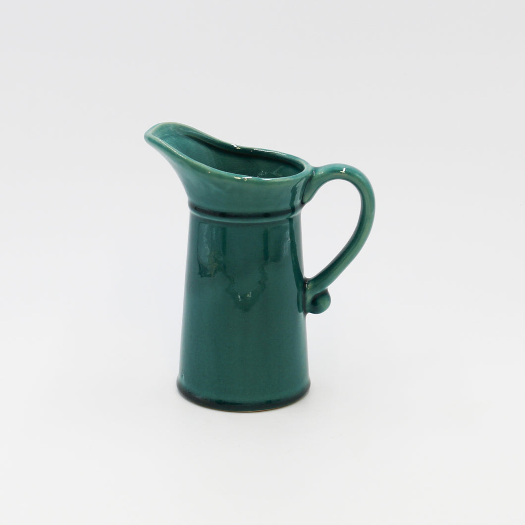 Teal Ceramic Jug