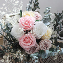 1 Year Subscription - Magic Rose and Foliage Bouquet (Delivered Quarterly)