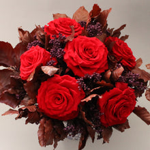 Red Classic Posy with XL Roses