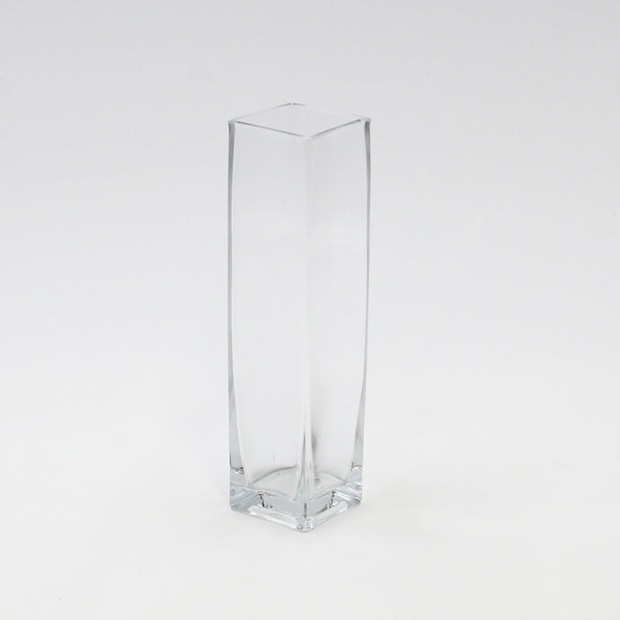 Square Glass Bud Vase