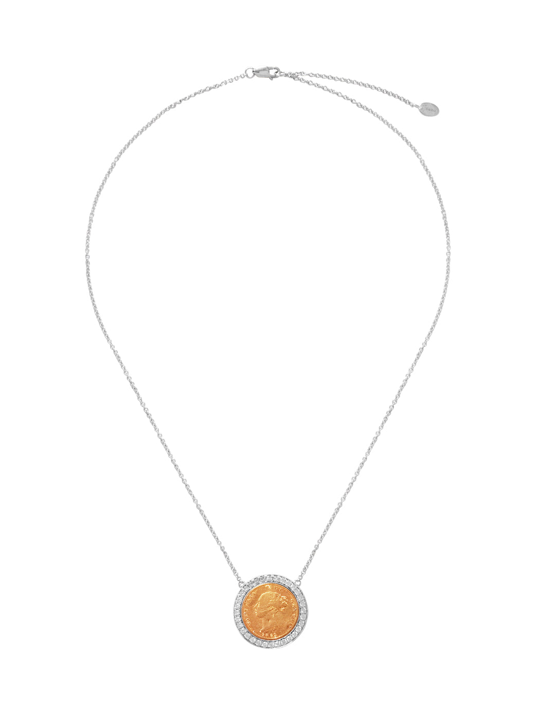 Fiorina Jewellery Elite Button Necklace