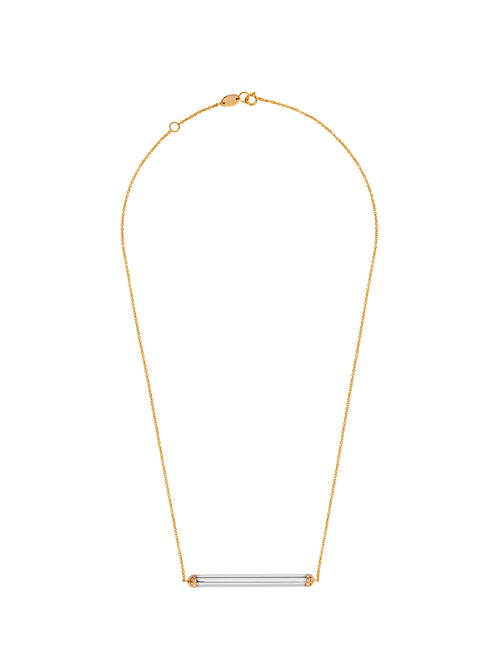 Fiorina Jewellery Elite Manifest Necklace White Gold