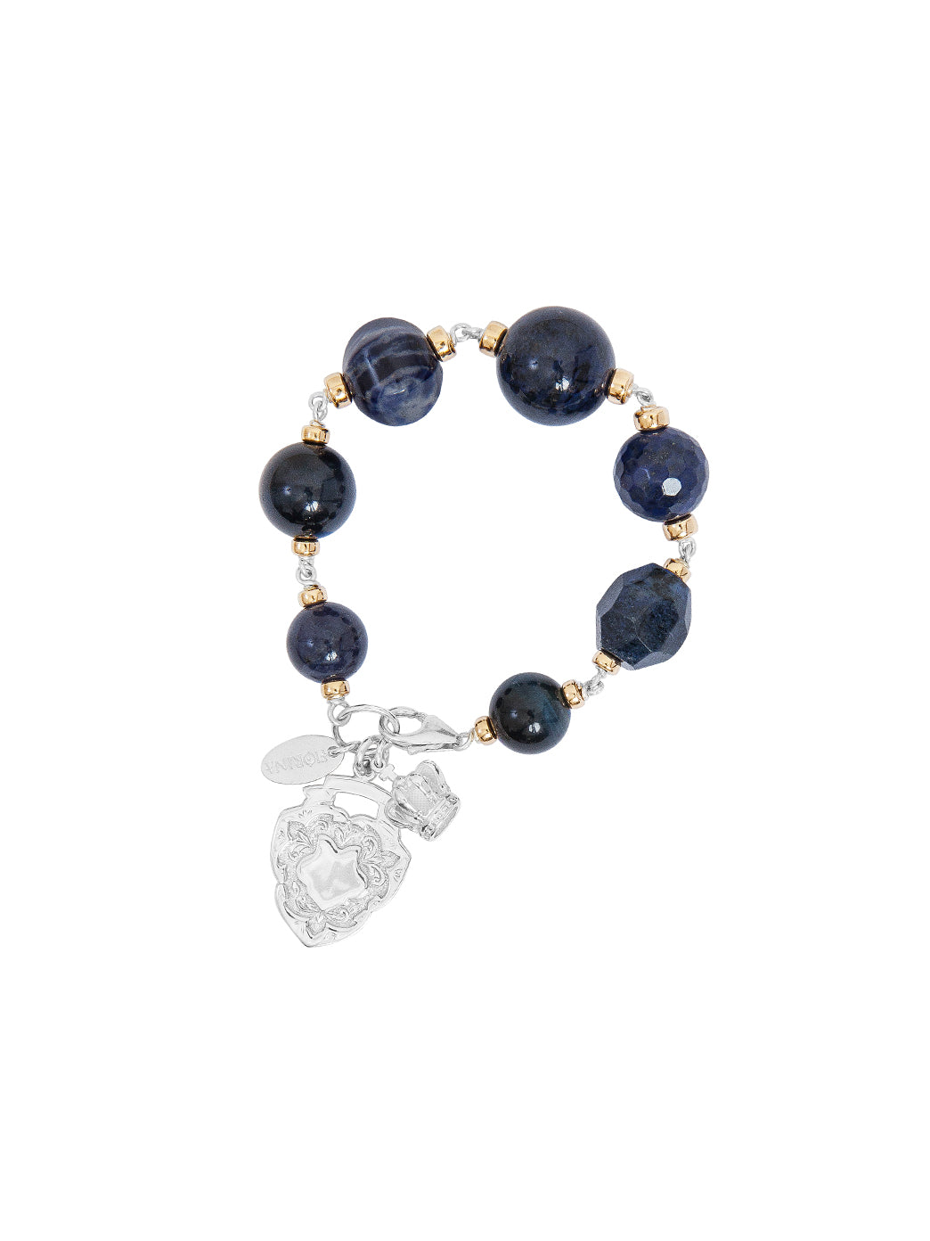 Fiorina Jewellery Bubble Bracelet Navy