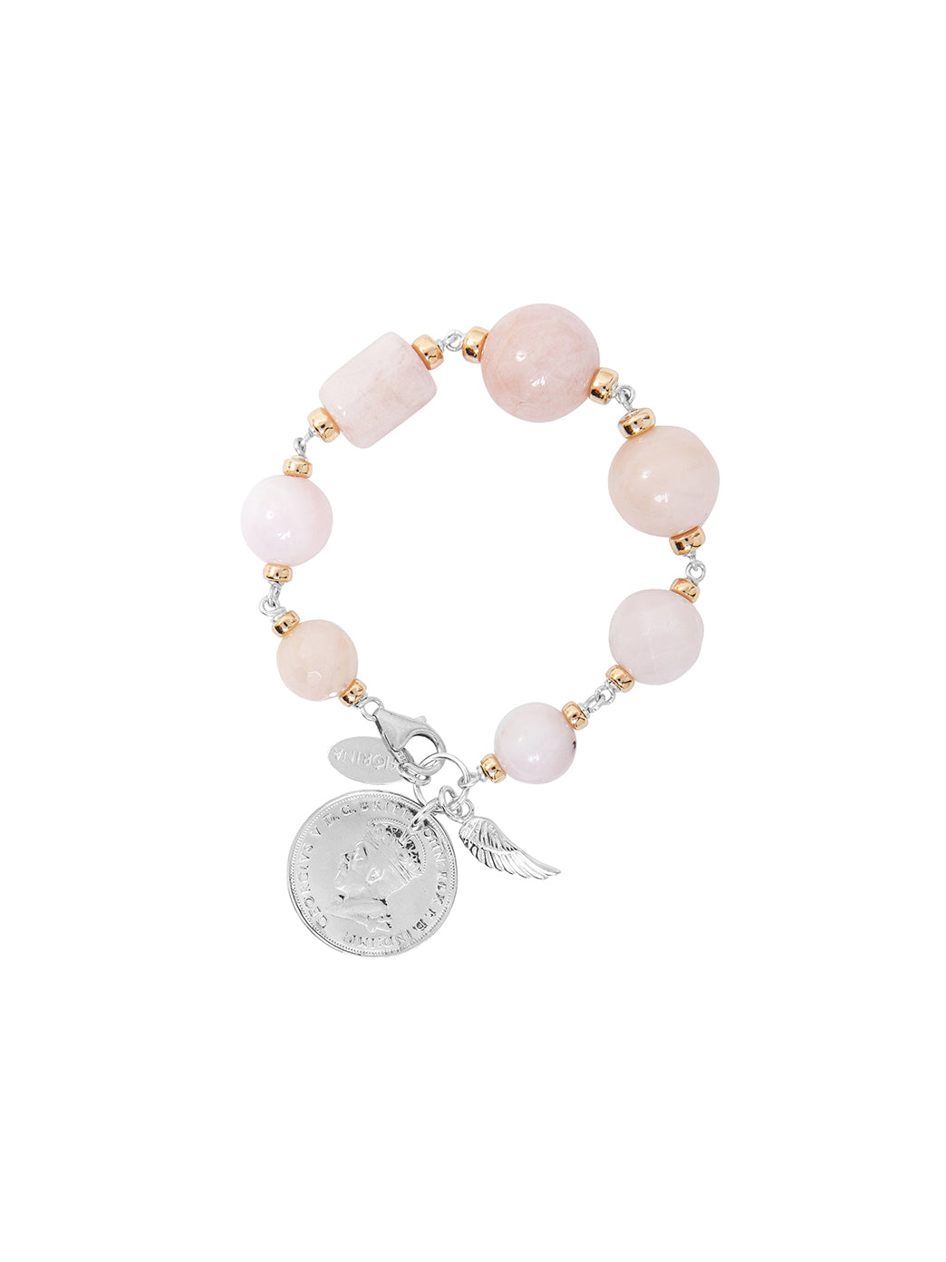 Fiorina Jewellery Bubble Bracelet Pink