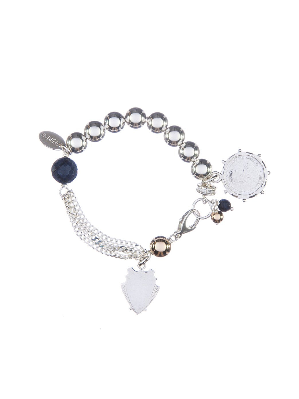 Fiorina Jewellery Monster Simple Komboloy Bracelet Sodalite
