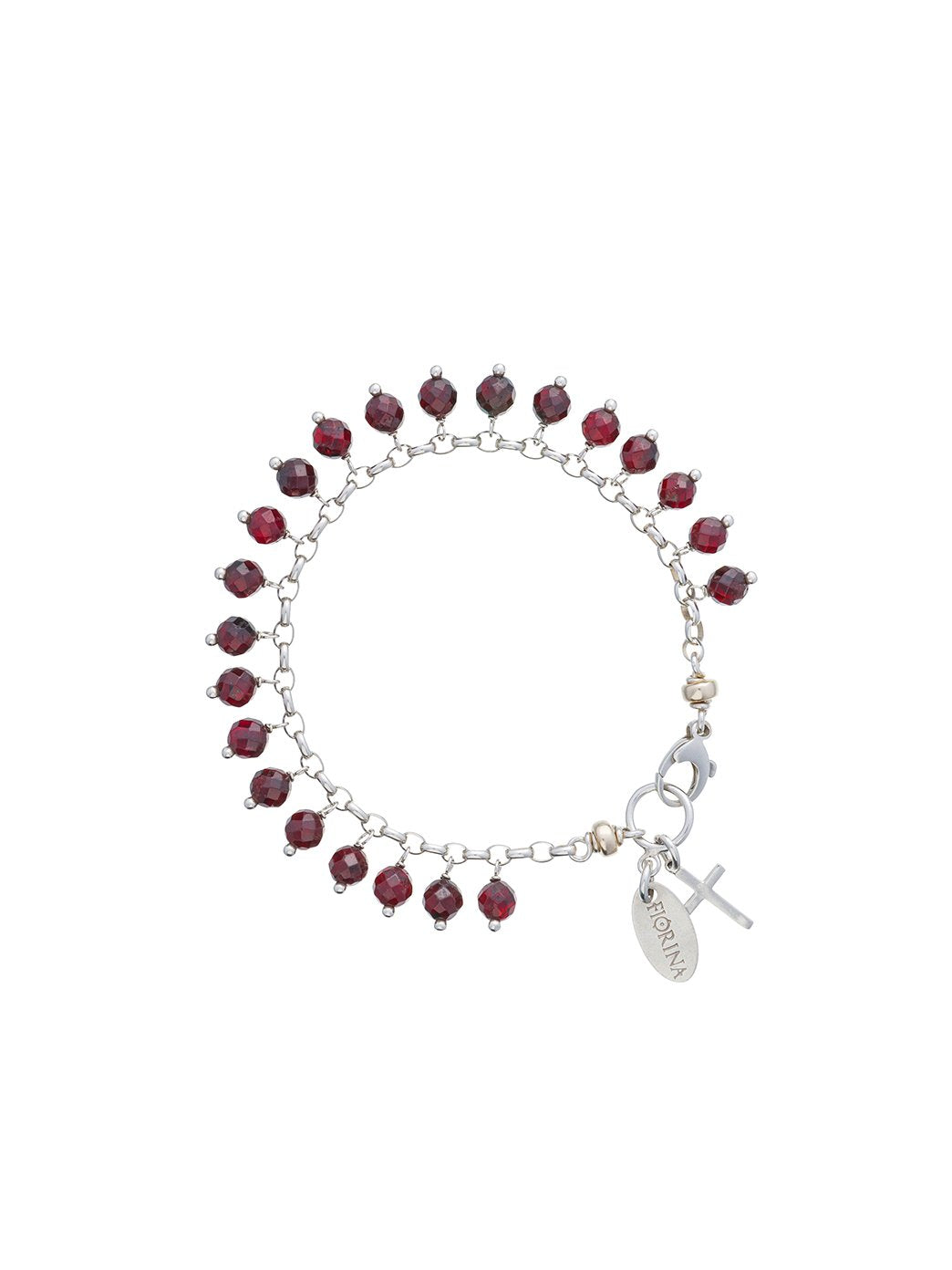Fiorina Jewellery Happy Set Garnet