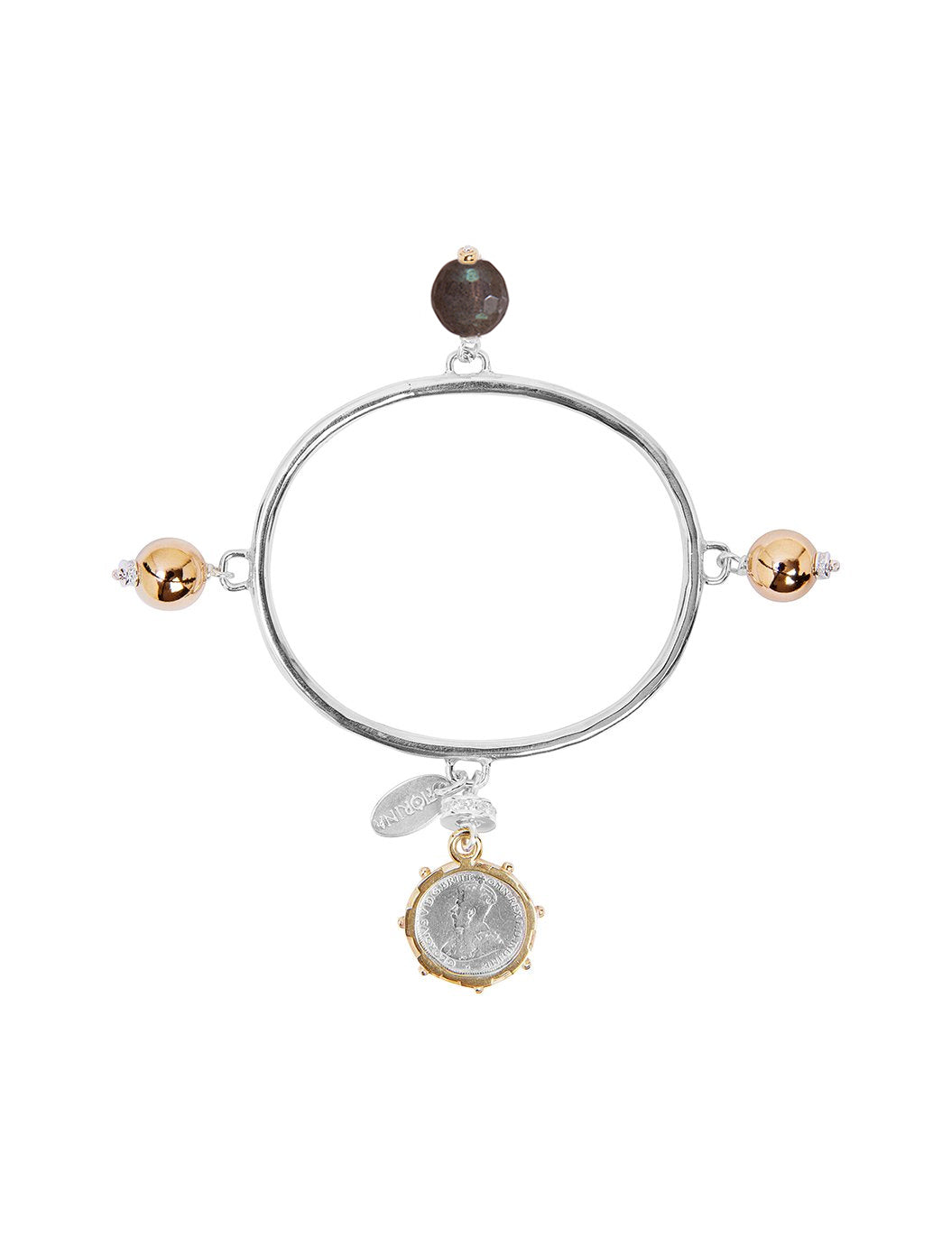 Fiorina Jewellery Vivaldi Bangle Labradorite