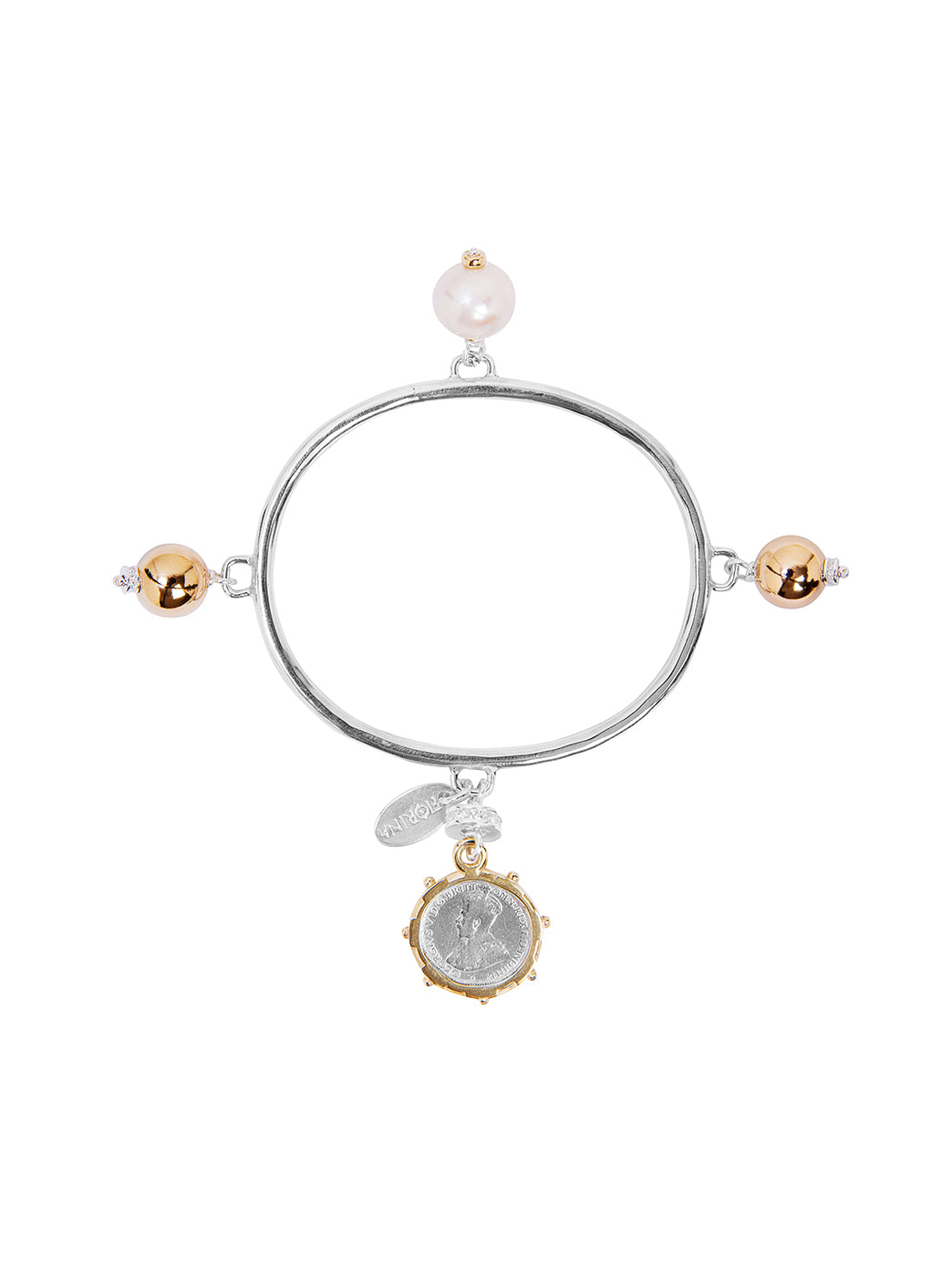 Fiorina Jewellery Vivaldi Bangle Pearl